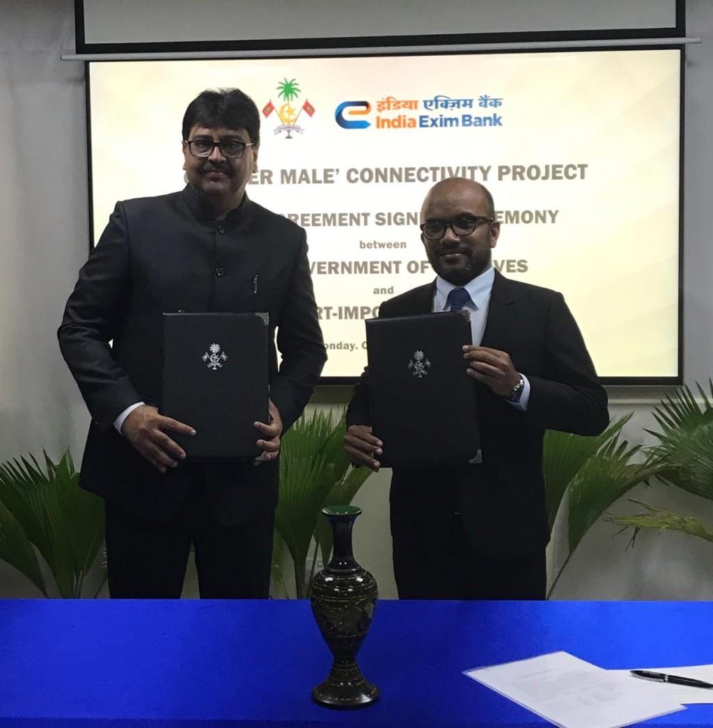 400 Million Dollar Loan Agreement Signed To Develop Thila Male Bridge One Online